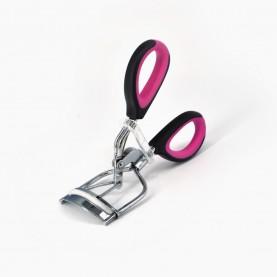 "зажим CRL15 зажим для завивки ресниц ""серебро"" ручка-цвет вставка 3,5*10,5 см. 30гр (10шт/уп, 600шт/кор) металл"