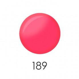 NP001_Y09 (189) лак для ногтей 12мл (розовый воск-клубный люмин) 12 шт/кор 480шт
