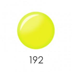 NP001_Y12 (192) лак для ногтей 12 мл (лимонный воск-клубный люмин) 12 шт/кор 480шт