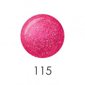 NP001_115 лак для ногтей 12 мл(блестящий ярко-розовый) 12 шт/кор 480шт