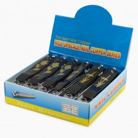 CLP05 маникюрный клиппер с пилкой (7 см) 22 гр.(12 шт/уп, 1200 шт/уп) шоу-бокс