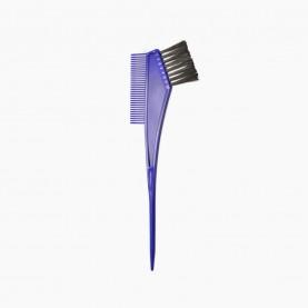 кисть PHB05 для окраски волос цветная в OPP 105 дли20 см с расч 6,5 см\кисть 3,5 см, 9 гр. (12шт/уп-1200шт/кор)
