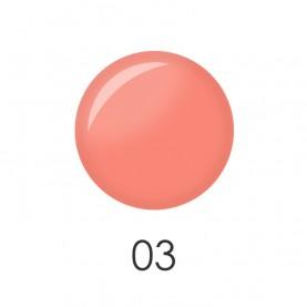 NP001 03 лак для ногтей 12 мл (матовый персик) 12 шт/кор 480шт