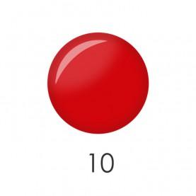 NP001 10 лак для ногтей 12 мл (ярко-красный матовый) 12 шт/кор 480шт