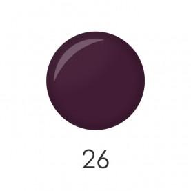 NP001 26 лак для ногтей 12 мл (матовый фиолет) 12 шт/кор 480шт