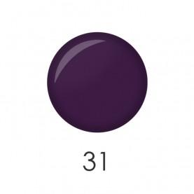 NP001 31 лак для ногтей 12 мл (темная матовая слива) 12 шт/кор 480шт