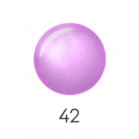 NP001 42 лак для ногтей 12 мл (нежно-сиреневый жемчуг) 12 шт/кор 480шт