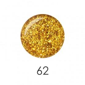 NP001 62 лак для ногтей 12 мл(золотой блеск) 12 шт/кор 480шт