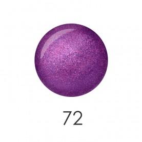 NP001 72 лак для ногтей 12 мл(блестящая сирень) 12 шт/кор 480шт