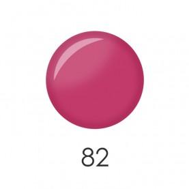 NP001 82 лак для ногтей 12 мл (розовый фламинго матовый)12 шт/кор 480шт