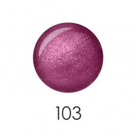 NP001_103 лак для ногтей 12 мл (сливовый хамелеон)) 12 шт/кор 480шт