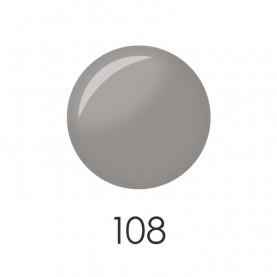 NP001_108 лак для ногтей 12 мл(светло серая пастель) 12 шт/кор 480шт