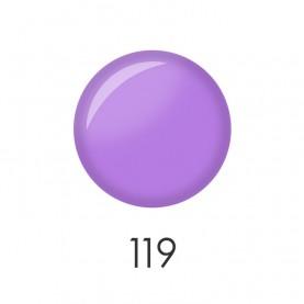NP001_119 лак для ногтей 12 мл(матовая сирень) 12 шт/кор 480шт
