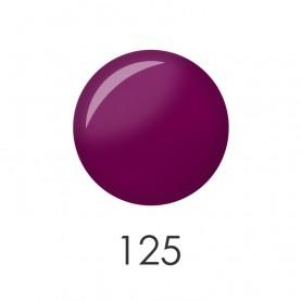 NP001_125 лак для ногтей 12 мл(матовый пурпурный) 12 шт/кор 480шт