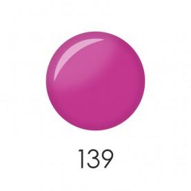 NP001_139 лак для ногтей 12 мл(розово-фиолетовый матовый) 12 шт/кор 480шт