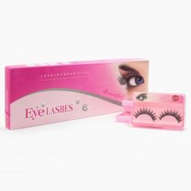 EYE06 false eyelashes накладные ресницы со стразами(1 кор=10 пар /200шт уп) ЦЕНА ЗА 10 пар