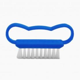 SHB10 щеточка для ногтей пластик, с ручкой волна 7*1,5 см 7 гр. без ИУ (24 шт/уп-2000шт/кор)