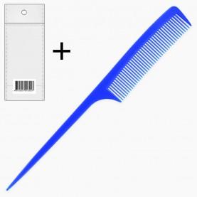 CMB028 расческа 701 (ОРР+стикер ШК расческа с ручкой тонкой для укладки 22*2,5*9 см (разные цвета) 7 гр.) (уп ZIP 25*35/12шт кор/3000шт)