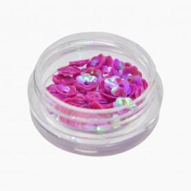 DN05 МИКС глиттеры для ногтей (цветочки FLOWERS) в пластмасс баночке 8 гр. (36 шт/уп/2400 шт/кор)