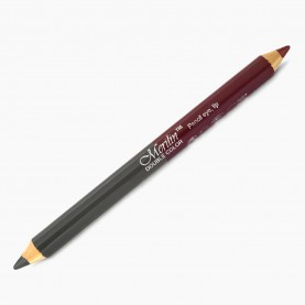 CP010 (темно-серый+бронзовый) 2-ной карандаш для внутренней и внешней подводки глаз с точилкой (12 шт/уп 1728 шт/кор) 18,5см / 2 гр