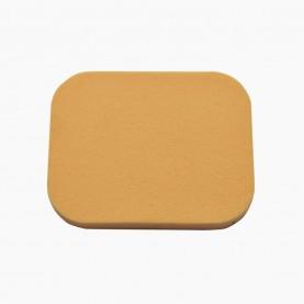 SPN16 спонж-универсал для макияжа прямоуг и кругл бежевый диам 4,5*5,5 см без ИУ 2 гр (200 шт/уп 2000/кор)