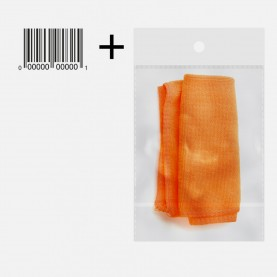 RAG002 салфетка для мытья (ОРР+стикер шк) микрофибра 30*30 см (кухня+стекло+монитор+мебель/4 шт/уп-200шт/кор) 4 гр цена за 1 ШТУКУ