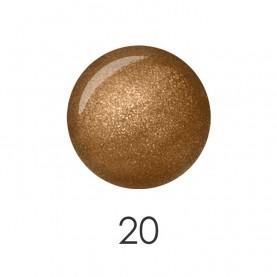 NP001 20 лак для ногтей 12 мл (бронзовый рай) 12 шт/кор 480шт