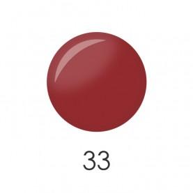 NP001 33 лак для ногтей 12 мл (матовый терракот) 12 шт/кор 480шт