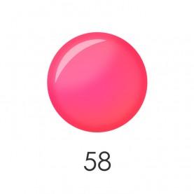 NP001 58 лак для ногтей 12 мл(матовый розовый неон) 12 шт/кор 480шт