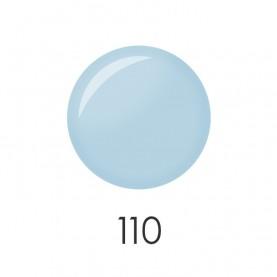 NP001_110_ лак для ногтей 12 мл(матовый нежно-голубой) 12 шт/кор 480шт