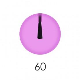 NP001 60 лак для ногтей 12 мл(прозрачный сиреневый) 12 шт/кор 480шт