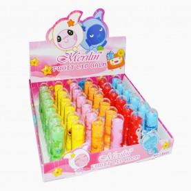 LB001 ШБ гигиеническая губная помада фруктовая , 6-ть разноцветных стержней (36 шт/уп-1440шт/кор)