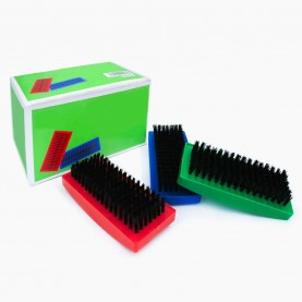 SHB22 щетка одежная черный ворс 11*4,5 см выс щетины 1,5 см 25 гр (12 шт/уп PVC box/480 кор)