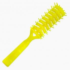 CMB016 расческа 885 для фена пластик с ручкой 19*3 см (разные цвета) 24 гр. (уп/12 шт кор/600шт)