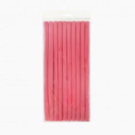 ROL104 БИГУДИ-бумеранг мягкие 10 шт D-1см длина -24 см МИКС цветные 74 гр. ( 12 наб(10 бигуди)/уп-480/кор) ЦЕНА за набор из 10 бигуди