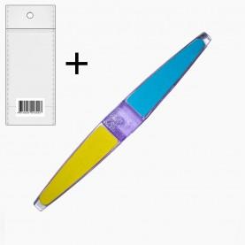 NB26 полировка для ногтей (ОРР+стикер шк полировка 4 step 16 см 15 гр.) (24шт/zip 32*25 2400/кор)