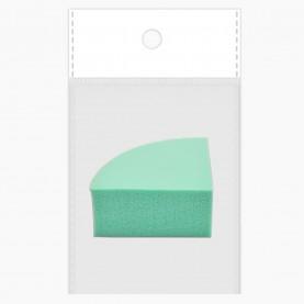 SPN19 спонж (ОРР+стикер шк резин- софт, четверть луны микс 4,3*4,3 h-2 см для макияжа и умывания 5 гр.) (20 шт/zip 18*25 4800/кор)