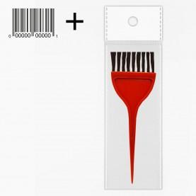 кисть PHB08 в OPP+стикер шк для окраски волос цветная 306 дл 15 см шир 5 см, 9гр. (12шт/уп-1200шт/кор)