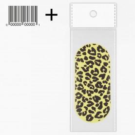 NB15 OPP7.5*10.5+стикер ш/к полировка ОВАЛ для ногтей 9*4*1,5 см 5 гр.(20шт/уп ZIP 17*25 1000/кор)