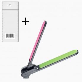 NB05- ОРР+стикер шк полировка 2*-сторонняя для ногтей складывающаяся 17,8 см 19 гр. (24 шт/уп 3000/кор)