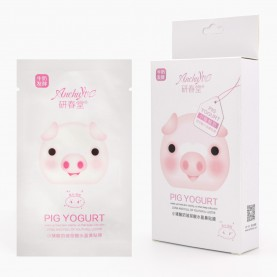 MSKNS01 пиги Anchuyt. White маска-пластырь для носа. Белая коробочка 2 гр цена за 1 шт (10 шт/уп 1440шт/кор)