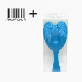 CMB511 PVC+стикер шк щетка с ручкой пластик сердце ангела-крылья 19*9 см 108 гр. в коробочке (6шт/уп кор/240шт)