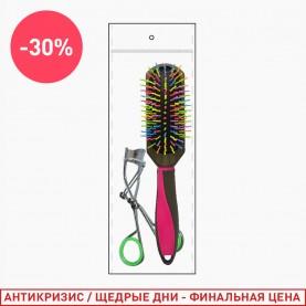 207 набор: расчёска/зажим для ресниц (1 шт/уп)