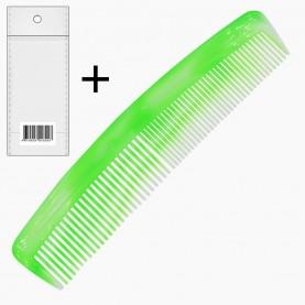 CMB005 расческа А14 ОРР + стикер шк классическая двухрядка 12,5 см зубья 3 дл см (разноцветные) 5 гр. (30шт/ уп zip 15*20 кор/1200шт)