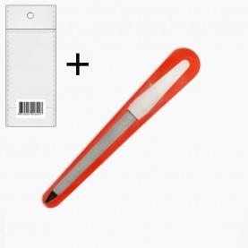 NFM 07 пилка (ОРР+стикер шк металлическая пилочка 17,5*1,5 см/ 9гр) (24/уп ZIP 17*25 1200/кор)