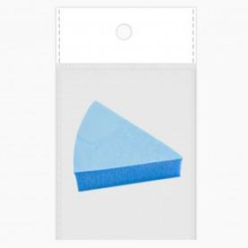 SPN31 ОРР+стикер шк спонж универсал нанесен и снятия макияжа треуголка цветной 4 см х 2 см (толщ) 2 гр (10 шт/уп ZIP 18*25 )