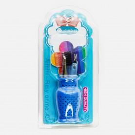 SB011 макияжный набор /6 предметов/ кувшинчик в пластик упак 11х6см (24шт/уп 288/кор)44гр