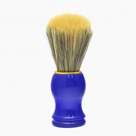 SHBR05 ИК кисть для нанесения на лицо цветн железн обод пластик ручка 11 см 40 гр. ( 6 шт/уп 600/кор)