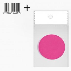 SPN24 OPP8*10+стикер ш/кспонж-универсал круглый цветной микс для макияжа диам 5,5 см 2гр. (25 шт/уп 10000/кор)