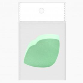 SPN30 спонж OPP8*10+стикер ш/к универсал нанесен и снятия макияжа губы|улыбка 6*4 см х 2 см (толщ) (20 шт/уп 1400/кор)